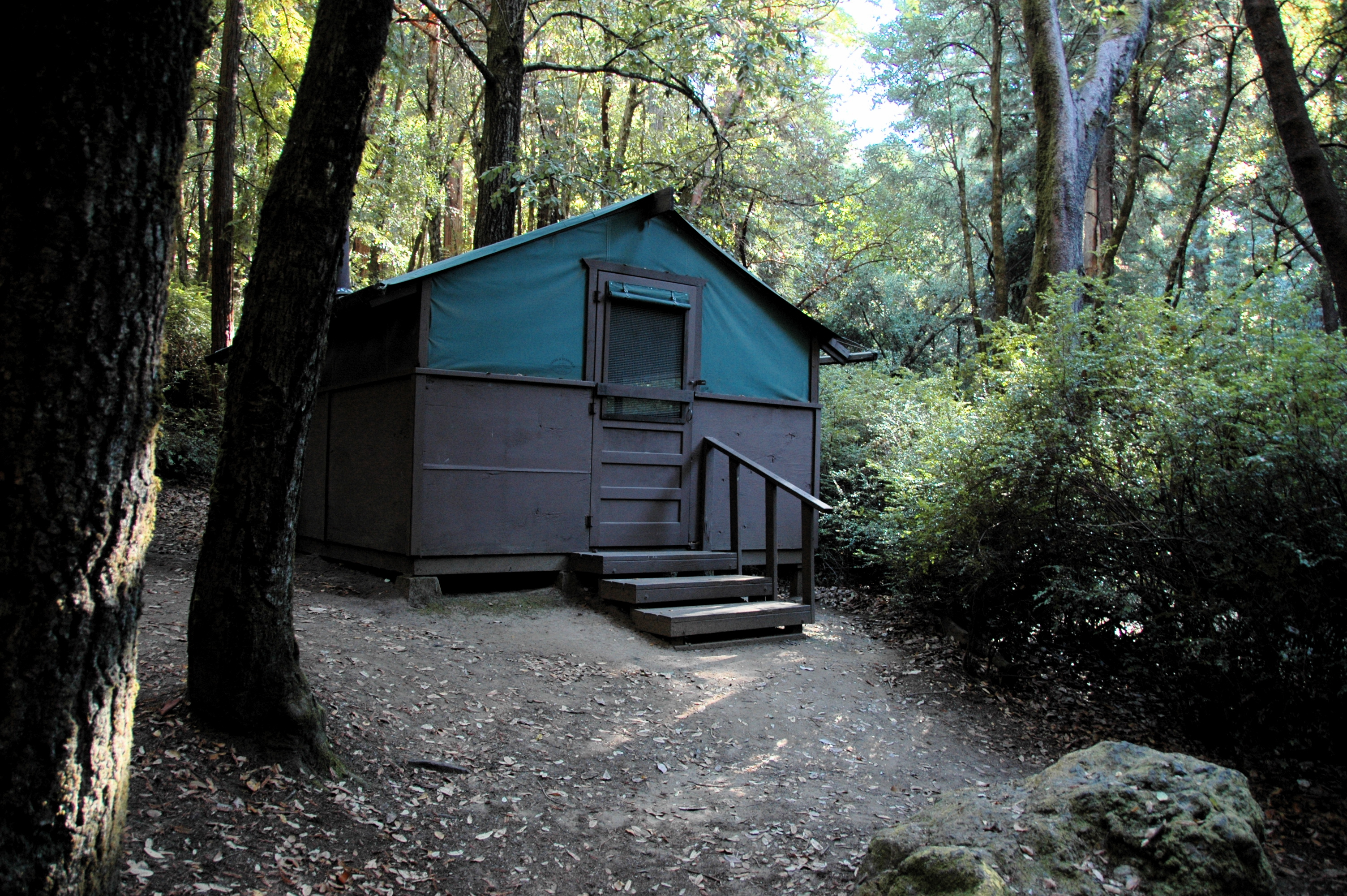 Attractive Big Basin Tent Cabin